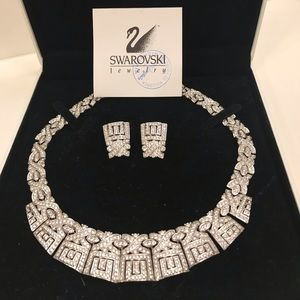 Swarovski Necklace & Earring Set